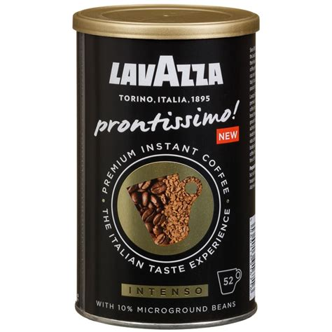 Why instant coffee is bad for you? Lavazza Instant Coffee 95g   Hot Drinks - B&M