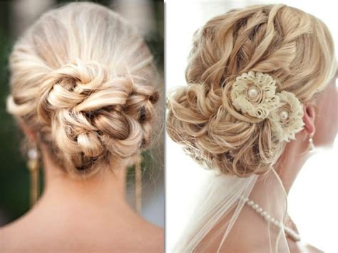 Top 15 Loose Wedding Up Do With Flower