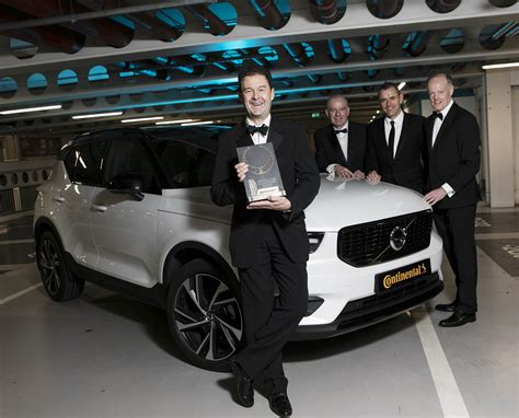 Volvo Xc40 Crowned Continental Tyres Irish Car Of The Year