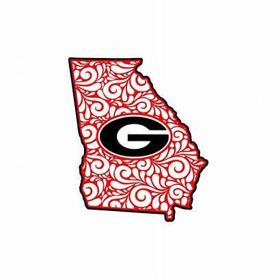 Georgia Bulldogs Bulldog Clipart Svg Clip State