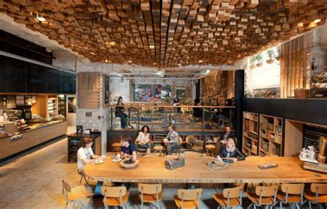 Starbucks Concept Store In Amsterdam by Starbucks Quot The Bank Quot Concept Store In Amsterdam