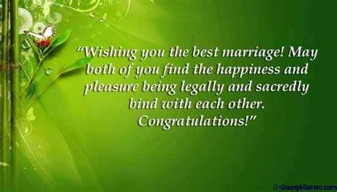 marriage    congratulate newlyweds  words