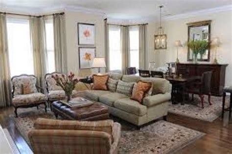 Living Dining Room Combo Decorating Ideas : How To Arrange Furniture In Living Room Dining Room Combo