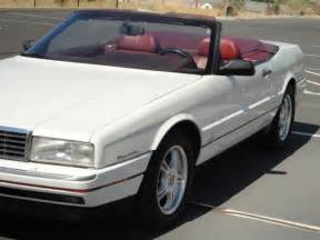 2 Seater Cadillac by 1993 Cadillac Allante 2 Seat Convertible In Excellent