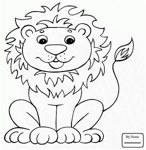 African Lion Drawing At Getdrawingscom Free For