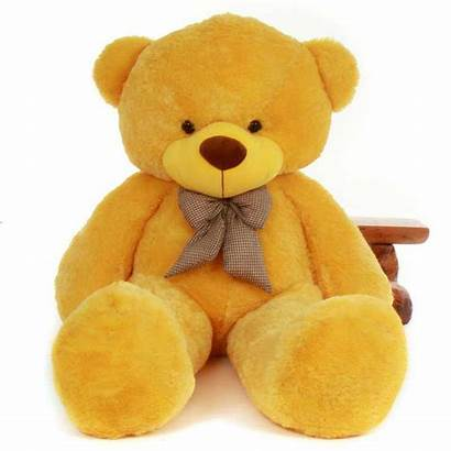 Teddy Giant Super Bear Yellow Toy Soft