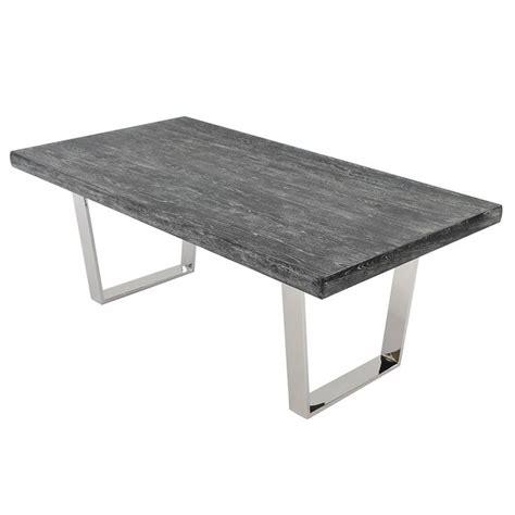 grey wash dining table vela gray wash 78 quot rectangular dining table cosas para 4096