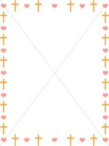 Crosses and Hearts Border
