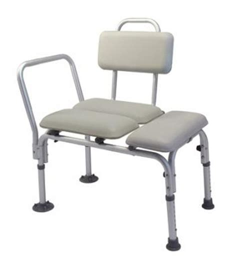 Padded Transfer Bench  Lumex 7955a  Bathroom Safety Products