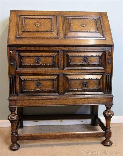 Antique Oak Bureau Writing Desk  Antiques Atlas