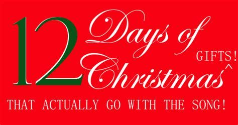 l adelle 12 days of christmas gifts that actually go