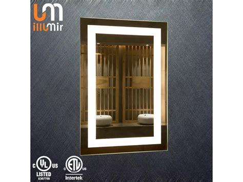 wall mounted makeup mirror with light ul etl certificate