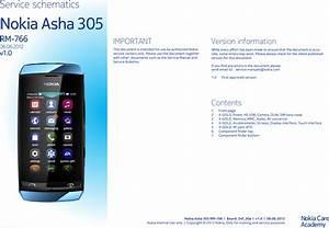 Nokia Asha 305 Service Schematics   S Manuals Com  Rm