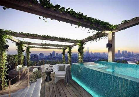 Pool Auf Dachterrasse by 15 Stunning And Relaxing Rooftop Pools Home Design Lover
