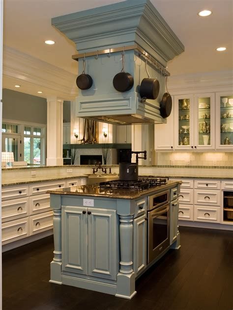 range hood  kitchen island hgtv