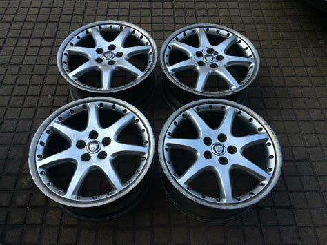 Jaguar S Type Bbs Monaco 4 X 18 Split Alloy Wheels