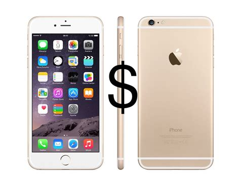 how much does the iphone 6s and iphone 6s plus cost across