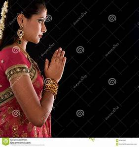 Hindu Prayer Stock Photo - Image: 41652981
