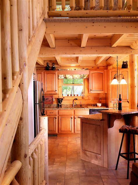 kodiak log home floor plan  katahdin cedar log homes