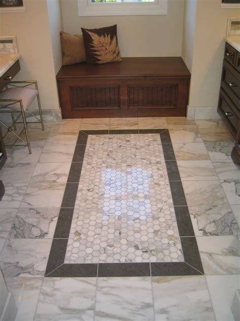 foyer tile designs entry traditional with baseboard black