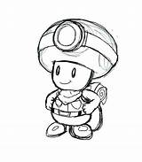 Toad Coloring Pages Mario Super Printable Print Getcolorings Getdrawings sketch template