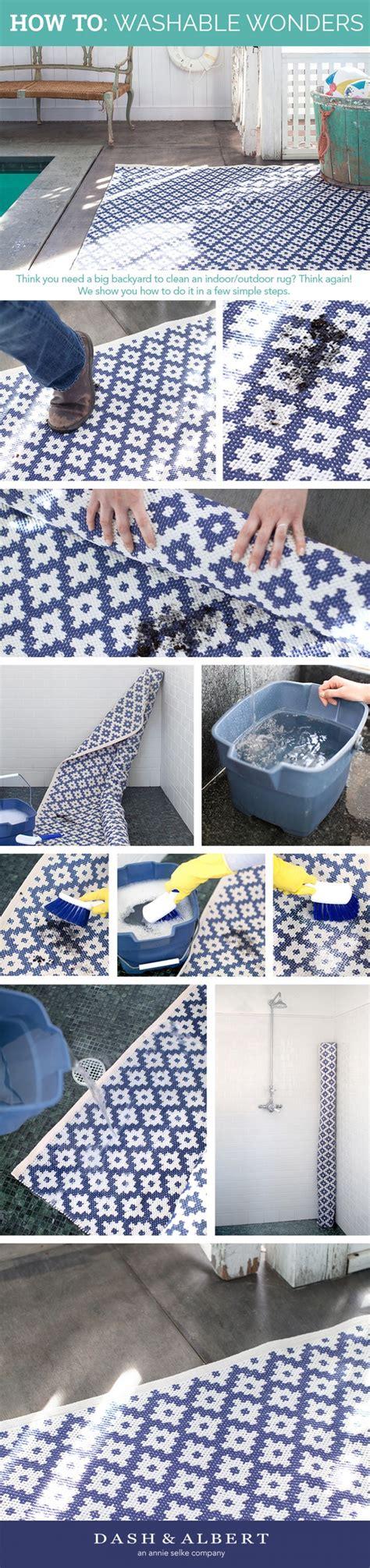 learn how to clean your indoor outdoor rug