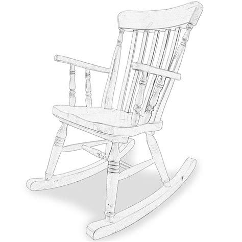 sedia a dondolo legno sedia a dondolo in legno grezzo river arredas 236