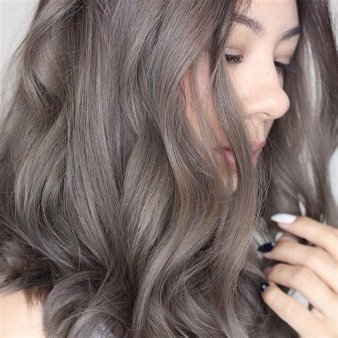 Mousy Ash Brown by Ash Brown Grey Hair 17 Summer Hair Inspiration Hair