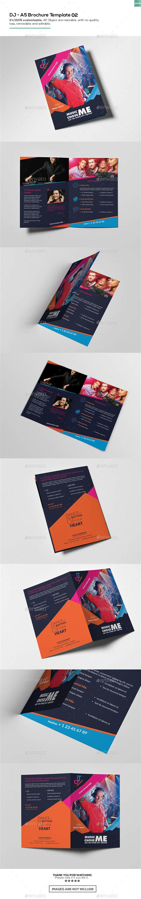 A5 Brochure Template by Dj A5 Brochure Template 02 By Wutip2 Graphicriver