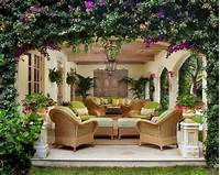 great tropical patio design ideas 24 Awesome Small Backyard Inspirations With Colorful ...