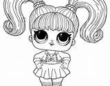 Coloring Omg Lol Doll Swag Kidsworksheetfun Leave sketch template