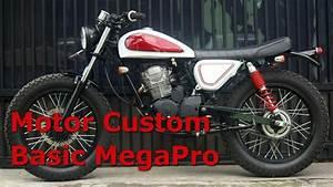 Motor Custom Basic Megapro