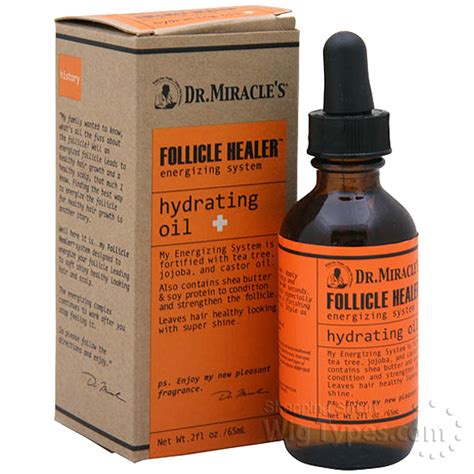 drmiracles follicle healer hydrating oil oz wigtypescom