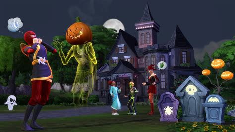 sims     treat  halloween
