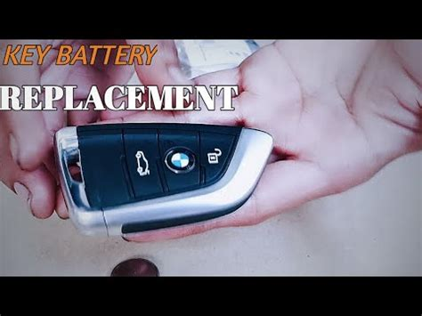 To replace the battery in your key fob, pull the latch at the end of the key holder, push your key horizontally into the open slot, and then lift the battery out of the compartment. How To Change Battery In Bmw Key Fob 2016
