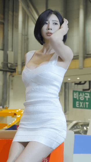 송주아 레이싱모델180427 부산국제보트쇼2018