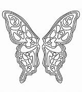 Coloring Wings Butterfly Fairy Pattern Printable Angel Colouring Sheet Template Cut Patterns Sheets Printables Momjunction Drawing Polyvore Adult Templates Fairies sketch template