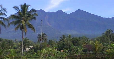 sejarah gunung galunggung  tasikmalaya