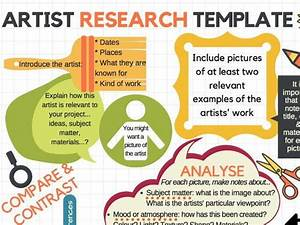 Gcse Art Analysis And Annotation Guide Sheets In 2020