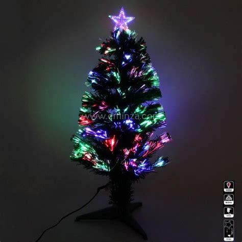 sapin de noel fibre optique sapin de no 235 l en fibre optique wilson h90 cm sapin et arbre artificiel eminza