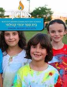 JCDS Annual Report 2015 by JCDS, Boston's Jewish Community ...