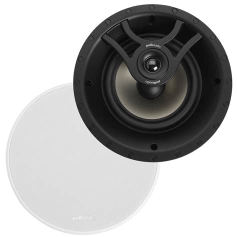 polk ceiling speakers polk polvs620rwhi in ceiling speaker appliances
