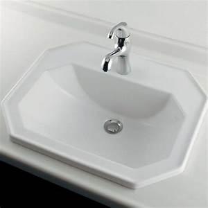 Vasque à Encastrer : vasque encastrer 58x47 cm de duravit ~ Edinachiropracticcenter.com Idées de Décoration