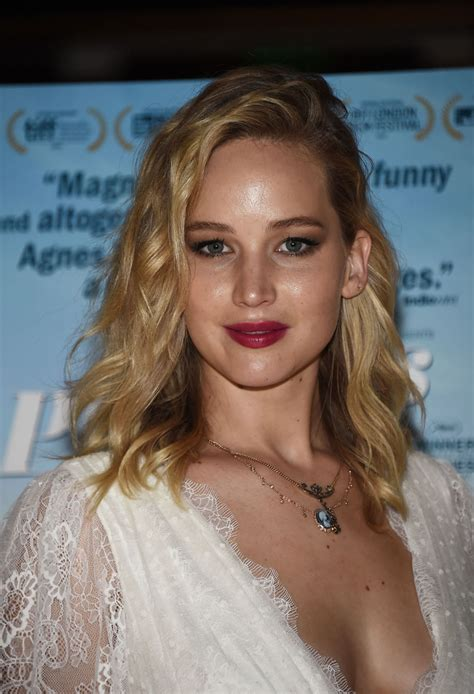JENNIFER LAWRENCE at Faces Places Premiere in West ...