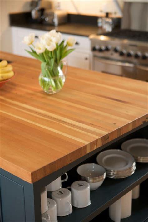 reclaimed douglas fir countertops modern kitchen