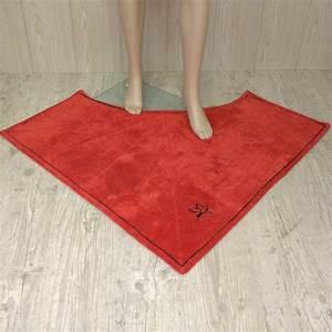 tapis de bain d39 angle sur mesure tapis de bain With tapis de gym avec canapé d angle moelleux