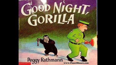 gorilla night rathmann peggy bedtime story