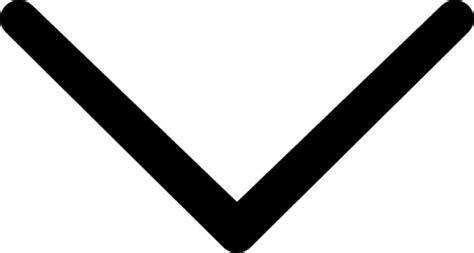 Thin Down Arrow Icons