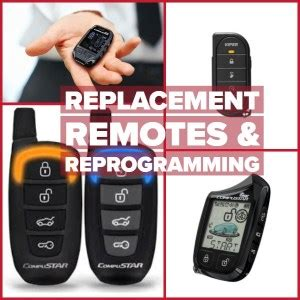 remote car starter sales installation replacement