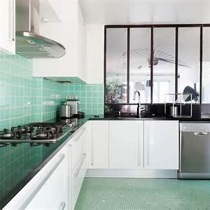 Carrelage Vert D Eau : des zelliges dans toute la maison diaporama photo ~ Melissatoandfro.com Idées de Décoration